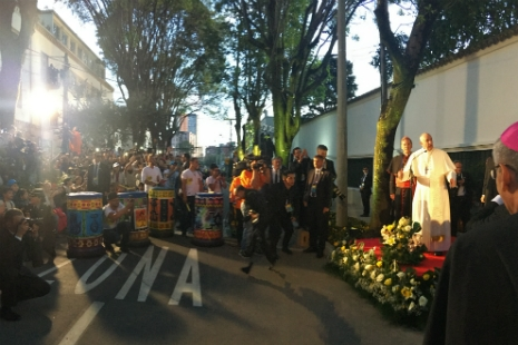 Peace in Colombia: Not an Objective but a Condition. Pope Francis in Colombia