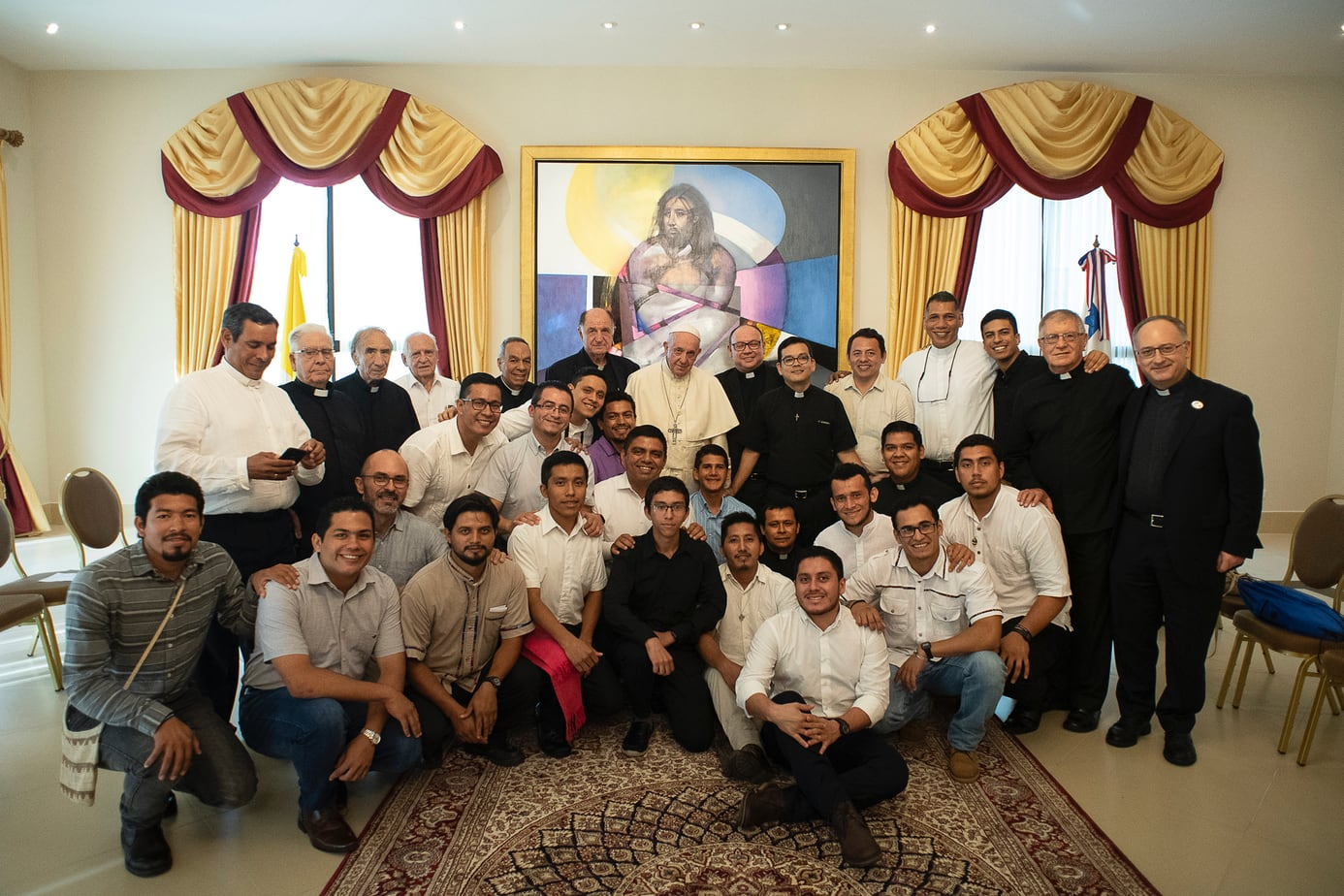 'Put your lives at stake': Pope Francis in dialogue with the Jesuits of Central America