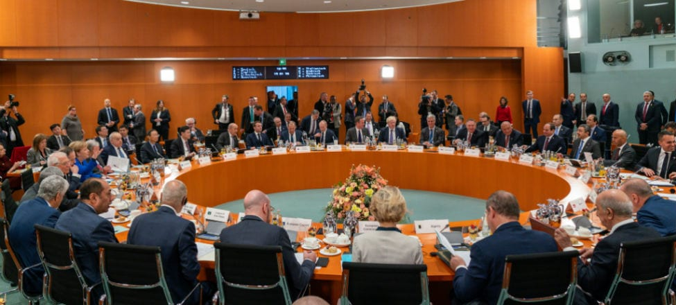 The Berlin Conference and Civil War in Libya