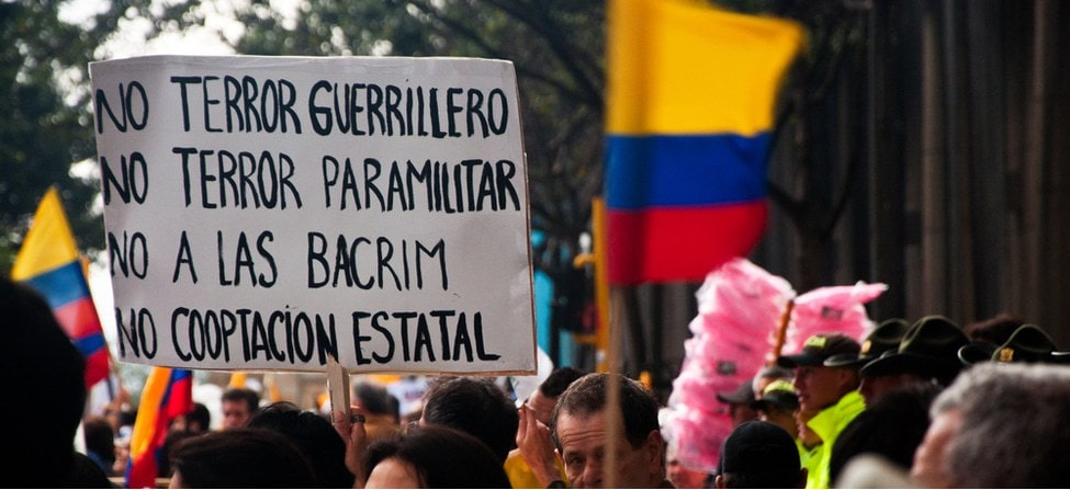 Where's the peace? Colombia without FARC-EP