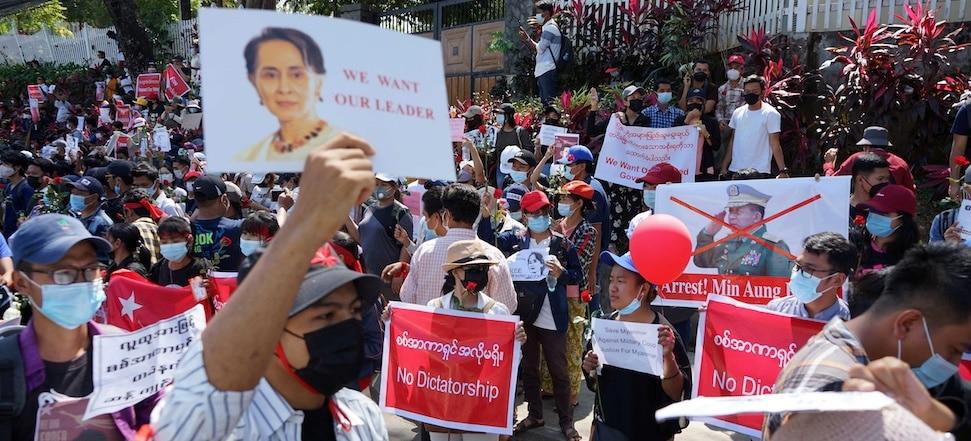 Myanmar Steps Back into Darkness