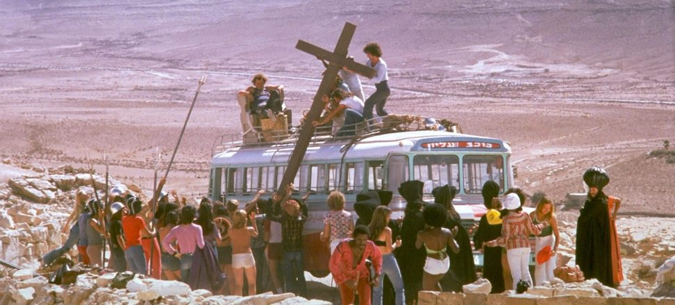 Jesus Christ Superstar, 1973 film version directed by Norman Jewison.